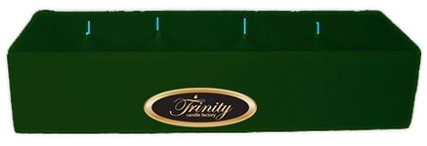 レクリエーション花輪針Trinity Candle工場 – Pine – Pillar Candle – 12 x 4 x 2 – ログ