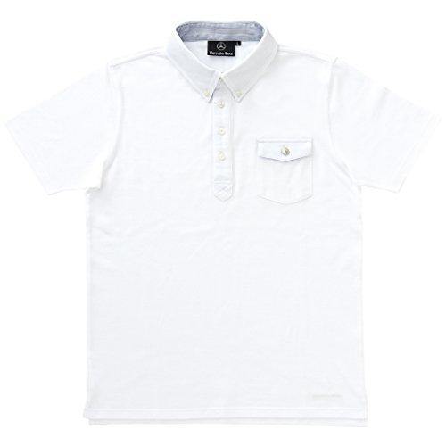 【Mercedes-Benz Collection】 メンズポロシャツ ホワイト LL...