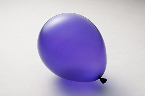 ゴム風船 100個 選べる 全24色 スタンダード パーティ ヘリウム イベント 9インチ(20cm),7.ディープパープル