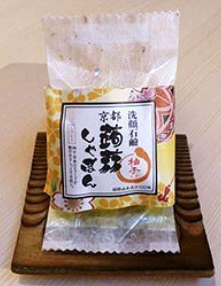 扇動シャトル品種京都蒟蒻しゃぼん「柚子 ゆず」