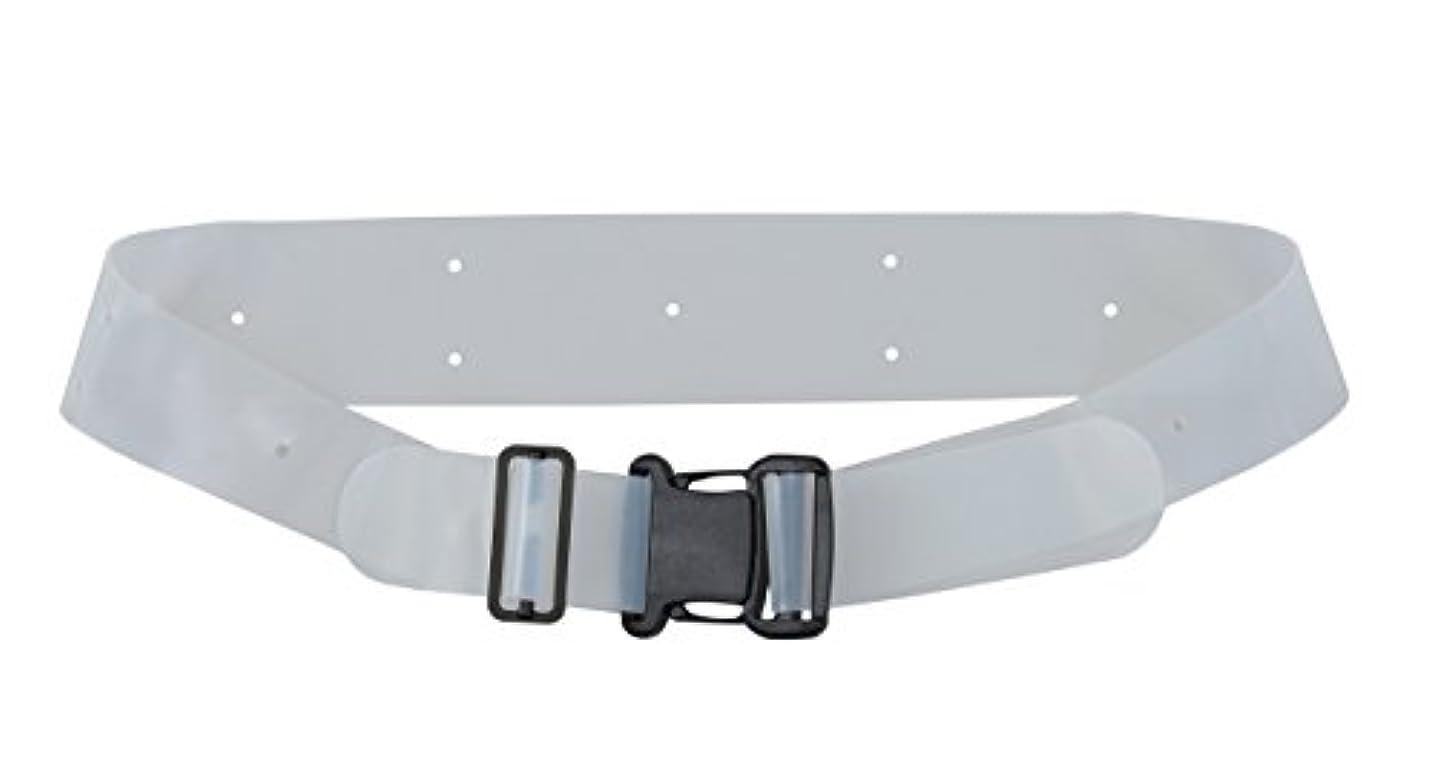 薄型シリコーン製 骨盤ベルト バックル式