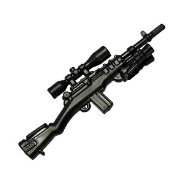 カスタムブロック パーツ スナイパーライフル M14:[Black / ブラック]【並行輸入品】