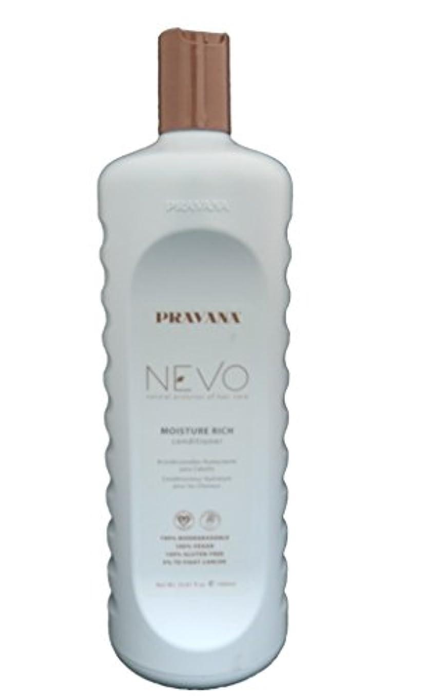 運ぶ免除する正統派Pravana Nevo Moisture Rich Conditioner - 33.8 oz