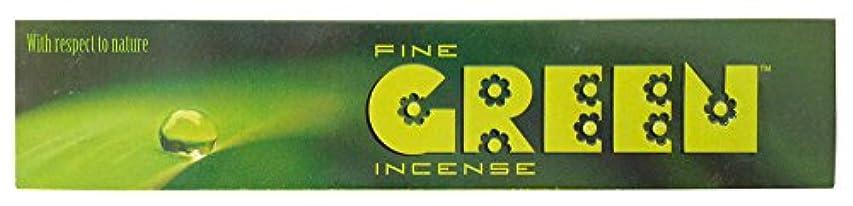 打ち上げる滑る入射グリーンインセンス