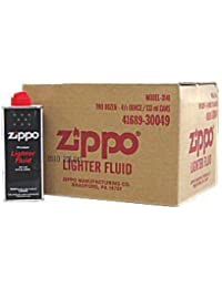 ZIPPO (ジッポー) 純正オイル缶サイズ小(S) 4.5fl.oz. 133ml 24本セット(1箱) [正規品]
