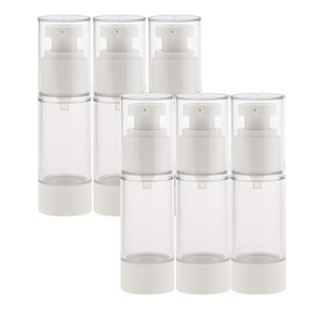 乞食組み立てるペインティングB Baosity 6個 真空スプレーボトル 香水ボトル ポンプボトル コスメ 化粧品 小分け用 詰替え ボトル 2サイズ選べ - 30ミリリットル