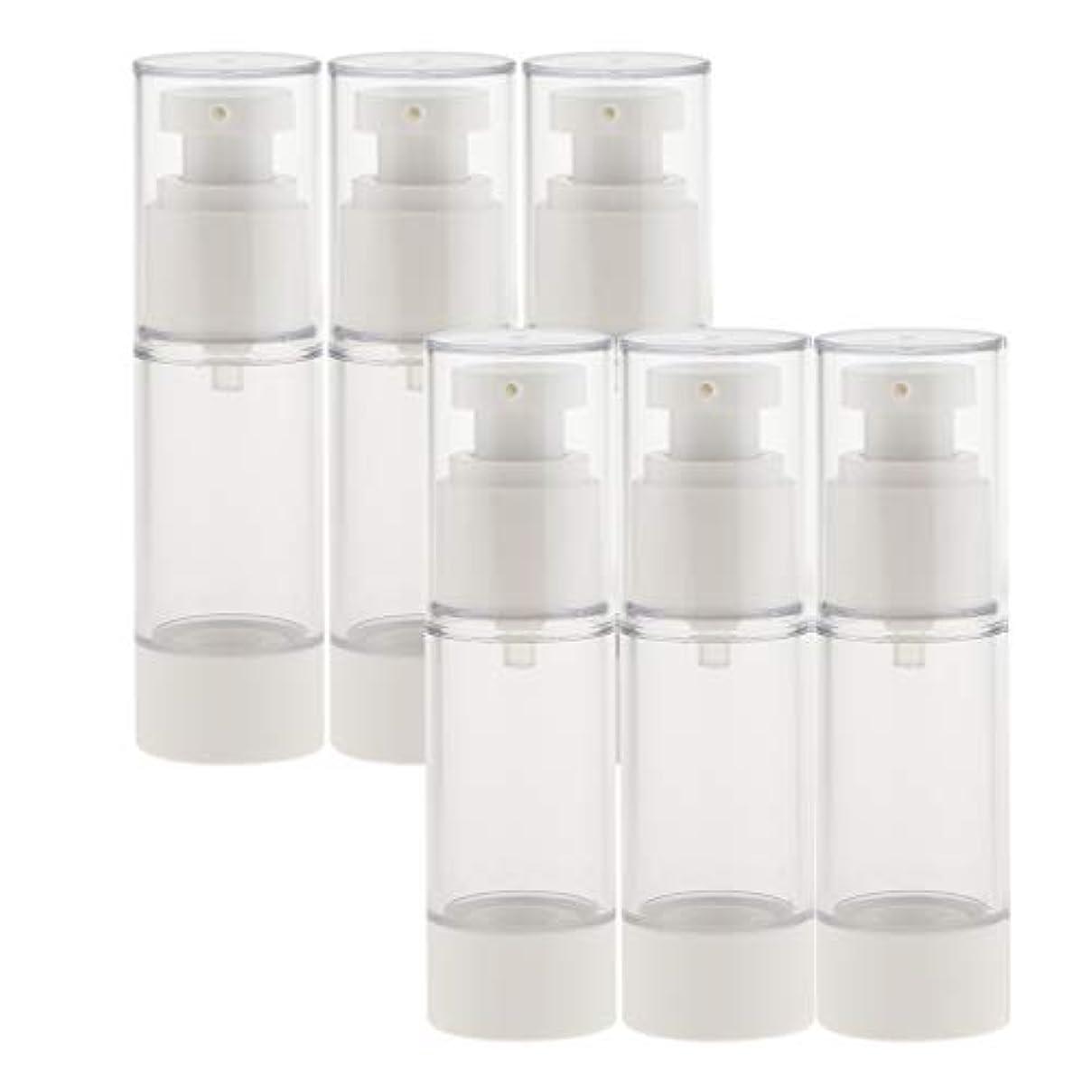 ハミングバード無能野菜dailymall スプレーボトル 6本セット 香水ボトル 真空ボトル ポンプボトル アトマイザー 全2サイズ選べ - 30ミリリットル