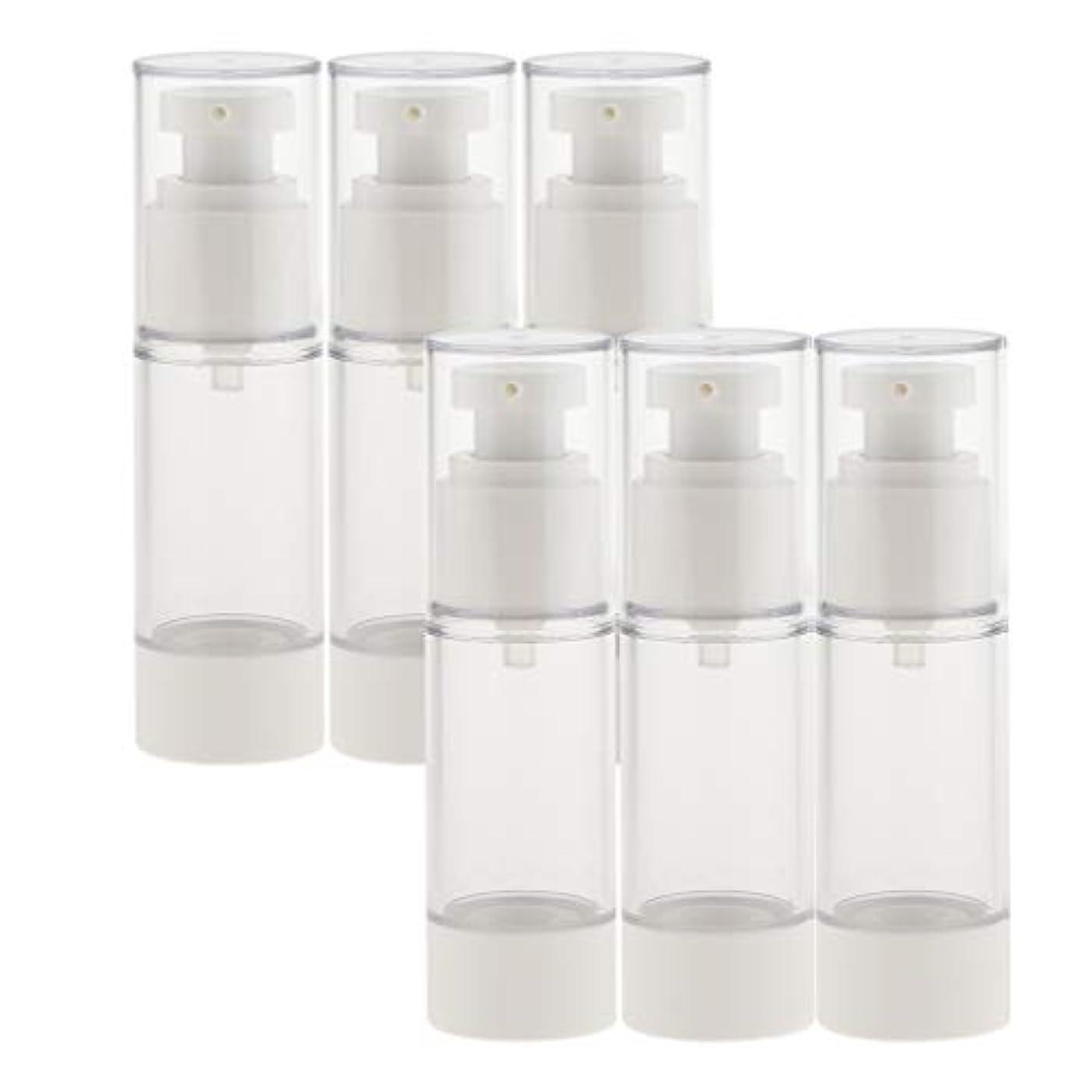 津波尊敬ビールdailymall スプレーボトル 6本セット 香水ボトル 真空ボトル ポンプボトル アトマイザー 全2サイズ選べ - 30ミリリットル
