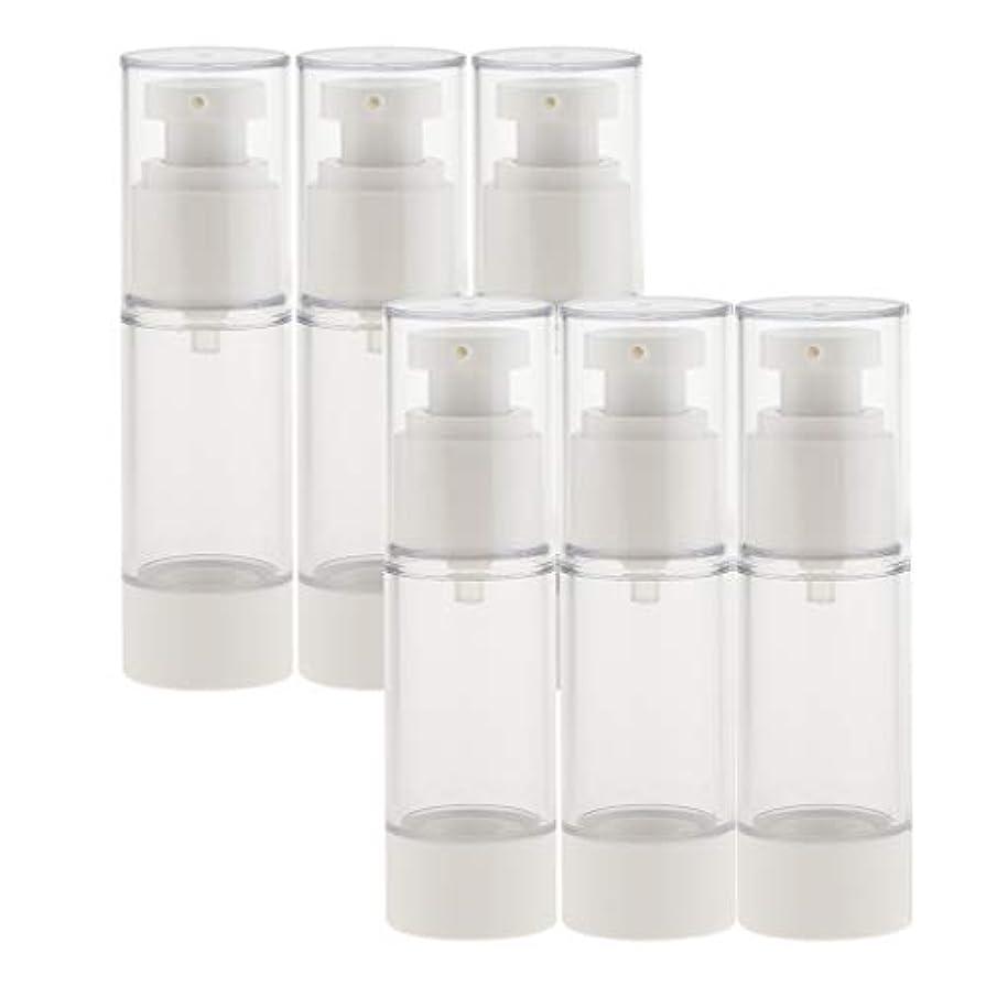 形式行従順B Baosity 6個 真空スプレーボトル 香水ボトル ポンプボトル コスメ 化粧品 小分け用 詰替え ボトル 2サイズ選べ - 30ミリリットル