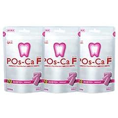 ポスカ・エフ(POs-Ca F)パウチタイプ 100g × 3袋 ストロベリー