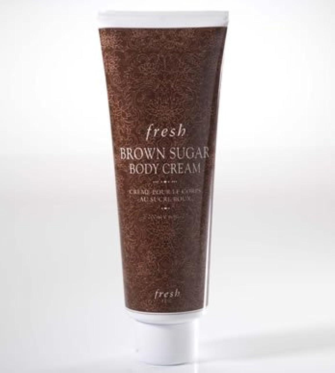 温室薄汚い顕著Fresh BROWN SUGAR BODY CREAM (フレッシュ ブラウンシュガー ボディークリーム) 6.8 oz (200ml) by Fresh