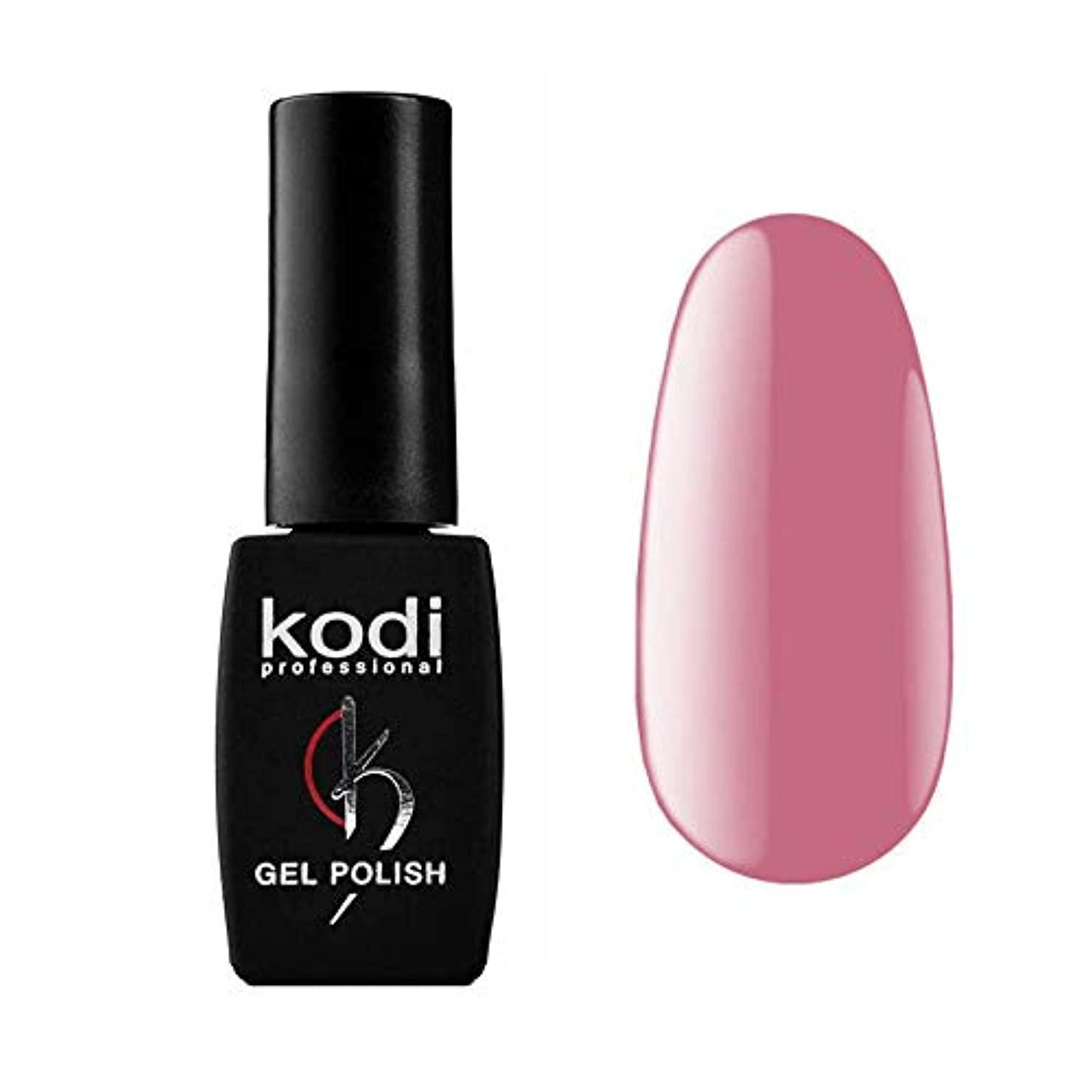 一緒シガレット近代化するKodi Professional New Collection P PINK #30 Color Gel Nail Polish 12ml 0.42 Fl Oz LED UV Genuine Soak Off