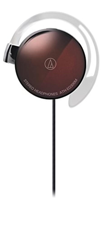 audio-technica オープン型オンイヤーヘッドホン 耳掛け式 ブラウン ATH-EQ300M BW