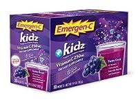 海外直送品Alacer Emergen-C Kidz Grape, Grape 30 pkts