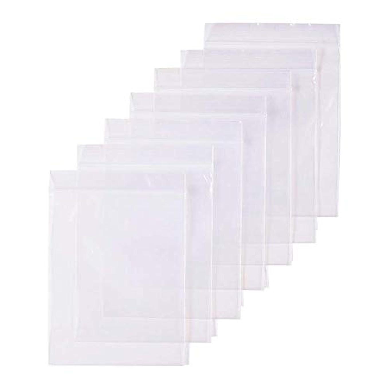 服を片付けるモロニックスカウト300枚 セット透明 リサイクル可能プラスチック袋チャック付ポリ袋 密封保存袋