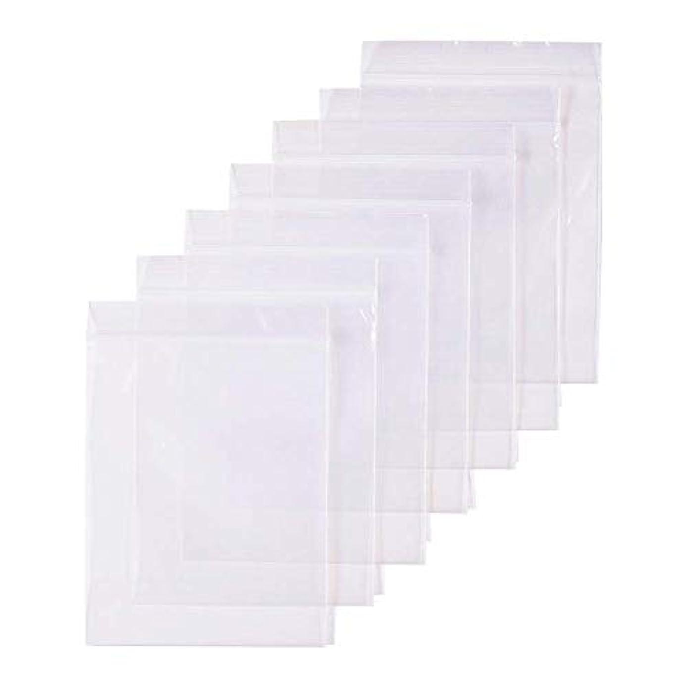 値下げペインティング真っ逆さま300枚 セット透明 リサイクル可能プラスチック袋チャック付ポリ袋 密封保存袋