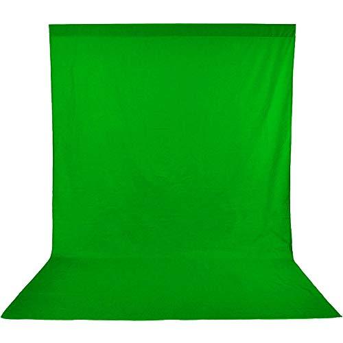 UTEBIT 撮影 背景布 緑 大サイズ 180 * 280 m 厚地 無反射 0.85kg 撮影用 グリーンバック 純綿 単色 生地 ...