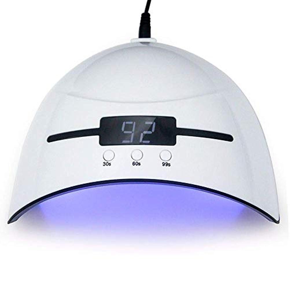 森林銀行滅多ネイルドライヤー36WネイルドライヤーLED UVランプマイクロUSBネイルランプ用硬化LEDジェルビルダー3タイミングモード自動センサー付きネイルドライヤー、写真の色