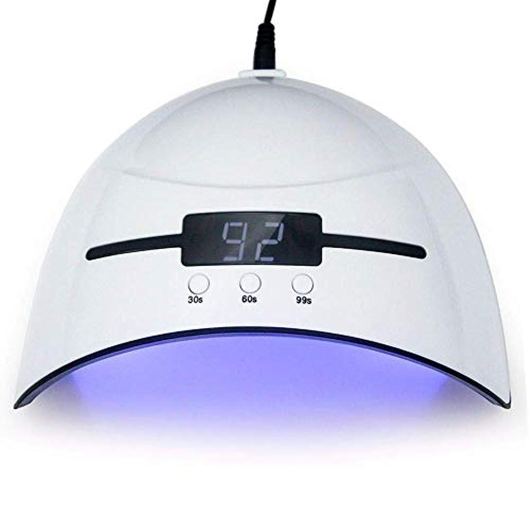 廃棄するホバースロベニアネイルドライヤー36WネイルドライヤーLED UVランプマイクロUSBネイルランプ用硬化LEDジェルビルダー3タイミングモード自動センサー付きネイルドライヤー、写真の色