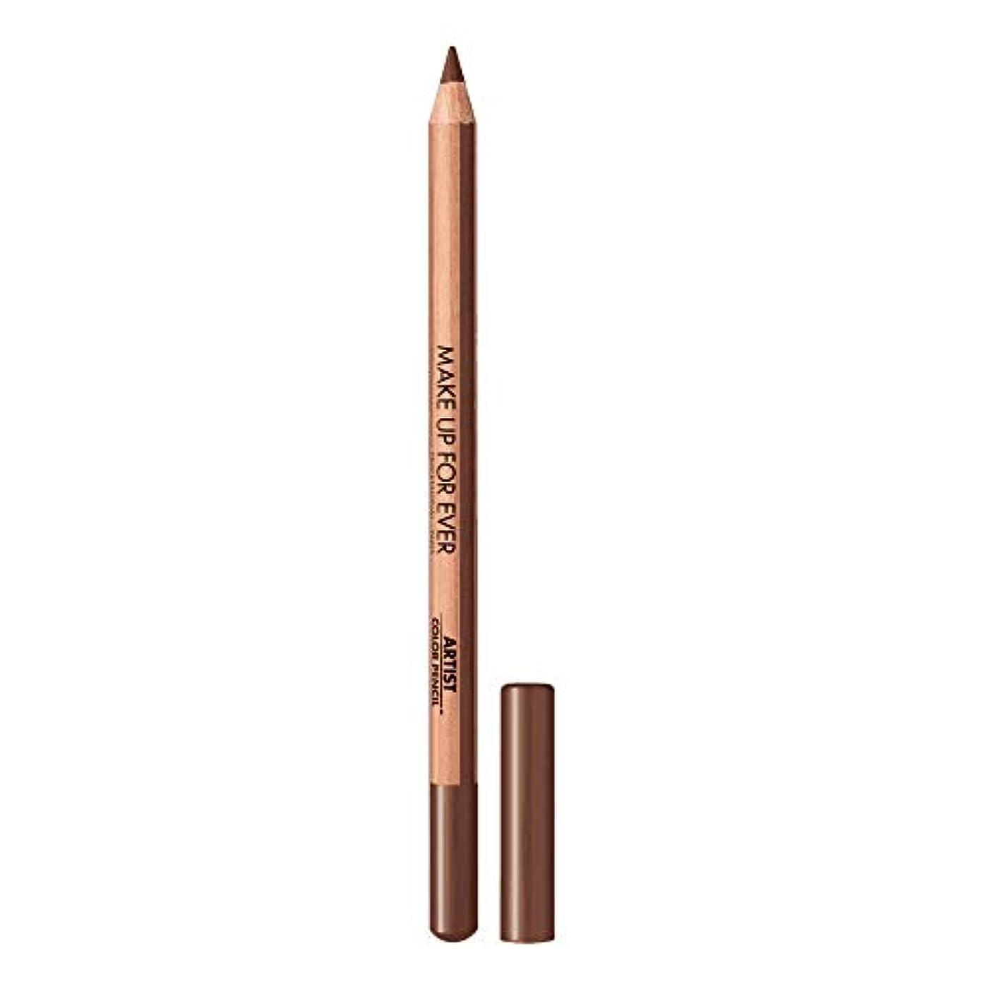 奨学金あいまいな兵器庫メイクアップフォーエバー Artist Color Pencil - # 608 Limitless Brown 1.41g/0.04oz並行輸入品