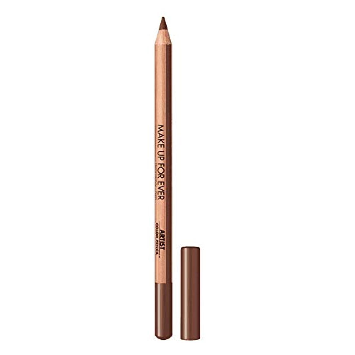 キャメルシリアルマトンメイクアップフォーエバー Artist Color Pencil - # 608 Limitless Brown 1.41g/0.04oz並行輸入品