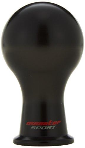 モンスターシフトノブAタイプ/M12×P1.25 ボール 丸 黒