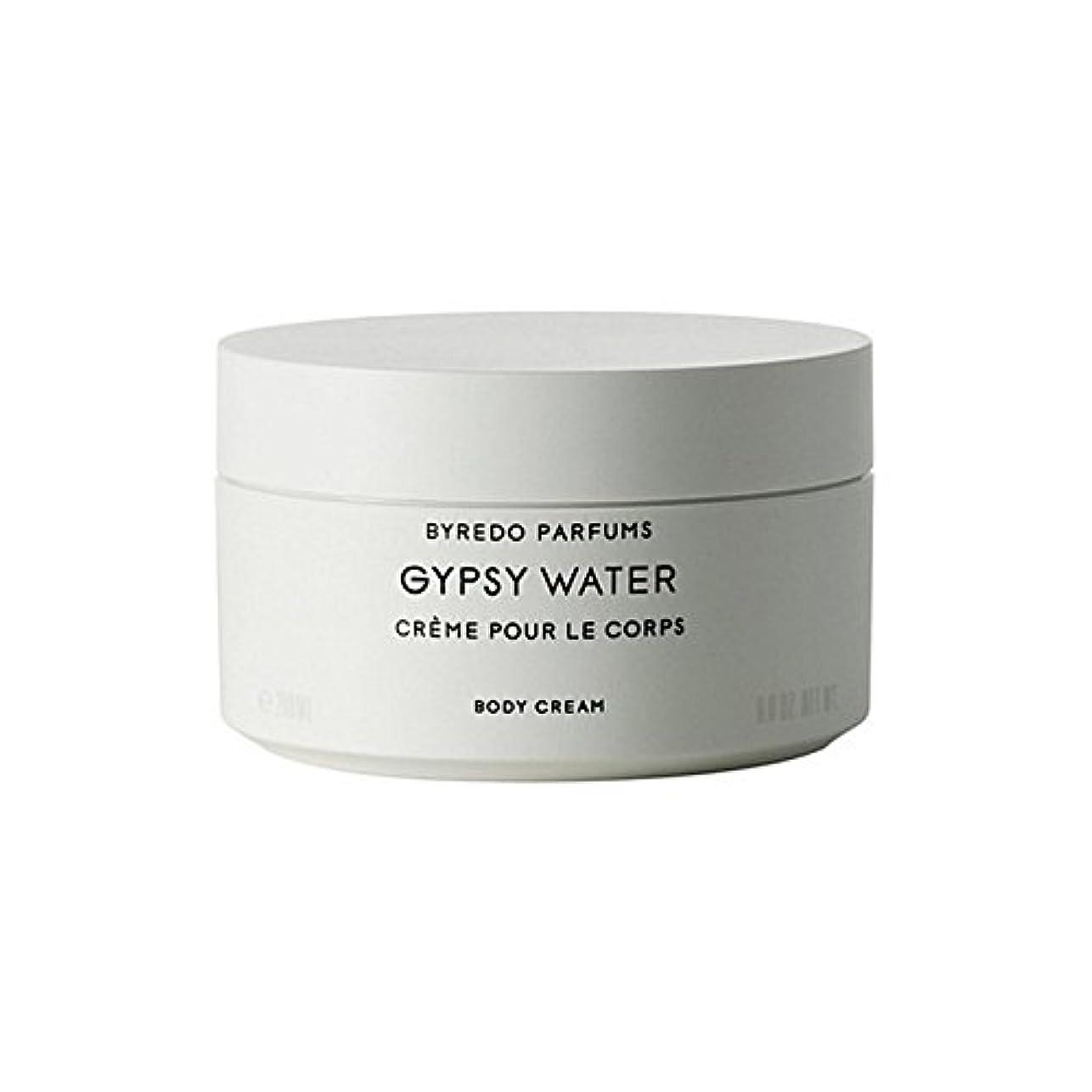 コウモリシガレットバケツジプシー水ボディクリーム200ミリリットル x2 - Byredo Gypsy Water Body Cream 200ml (Pack of 2) [並行輸入品]