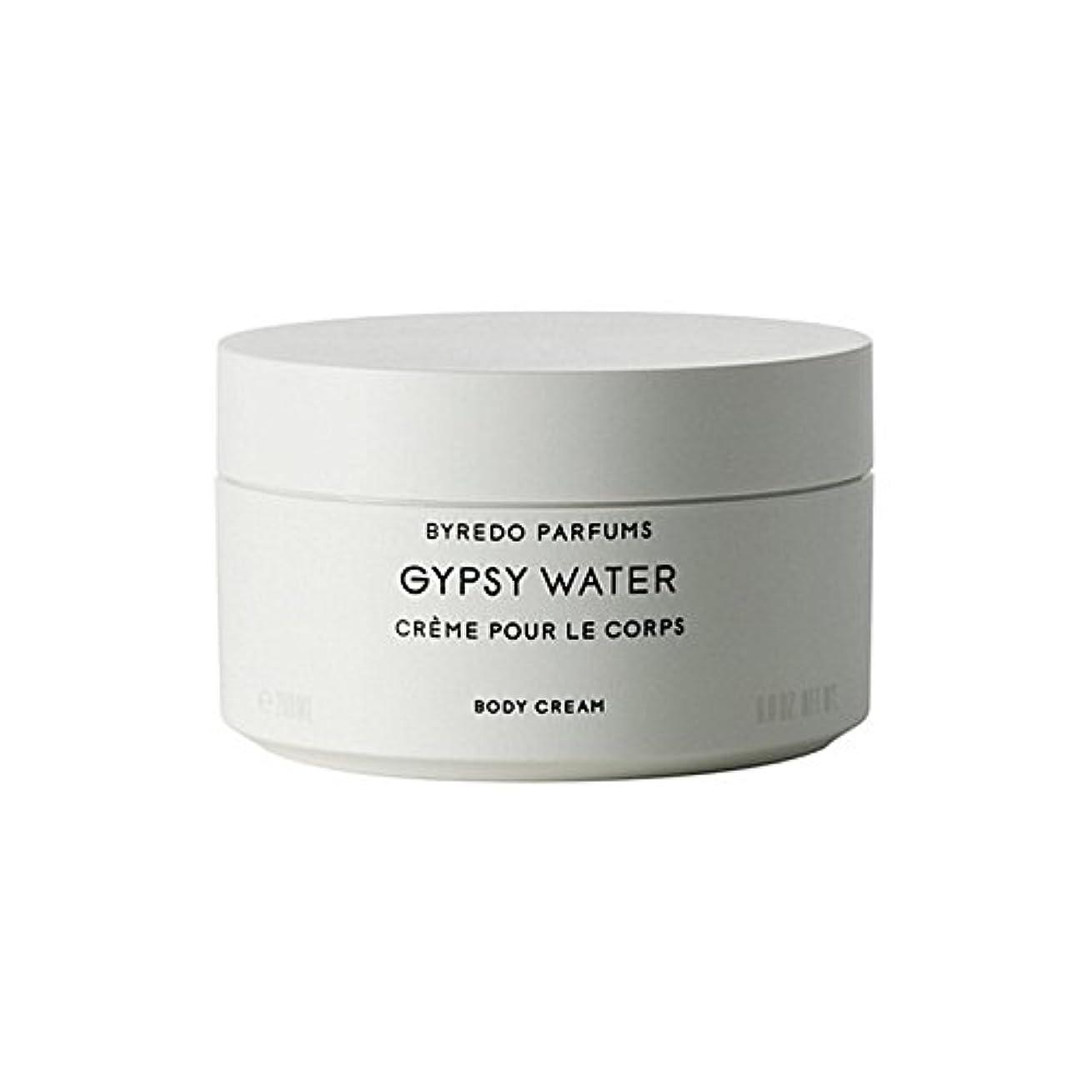 火山学契約する遺棄されたジプシー水ボディクリーム200ミリリットル x4 - Byredo Gypsy Water Body Cream 200ml (Pack of 4) [並行輸入品]