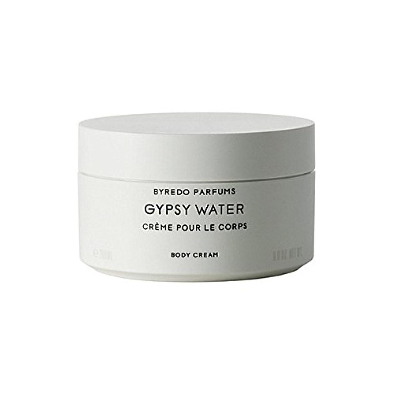 ラインスリップ同化するByredo Gypsy Water Body Cream 200ml - ジプシー水ボディクリーム200ミリリットル [並行輸入品]