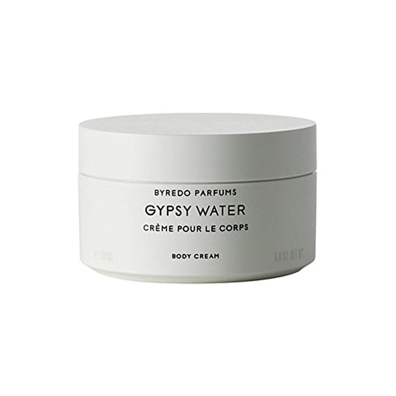 イーウェル合併症スペアByredo Gypsy Water Body Cream 200ml (Pack of 6) - ジプシー水ボディクリーム200ミリリットル x6 [並行輸入品]