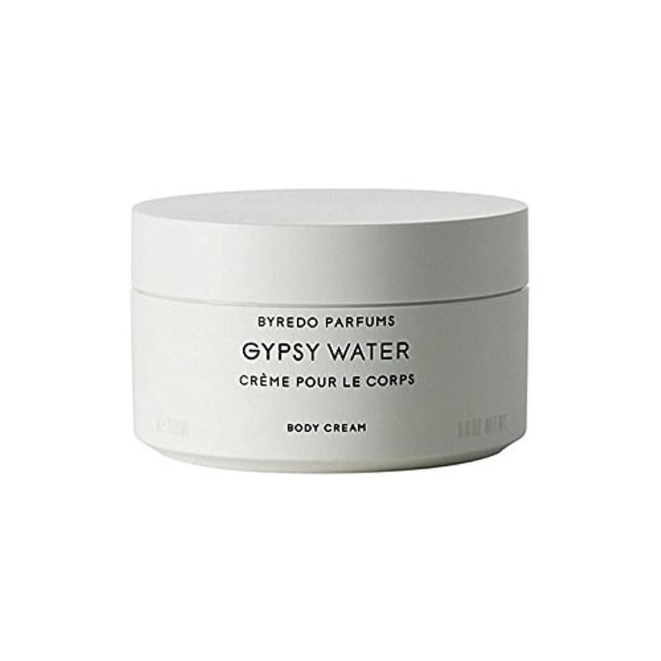 遊びますおびえたほのめかすByredo Gypsy Water Body Cream 200ml (Pack of 6) - ジプシー水ボディクリーム200ミリリットル x6 [並行輸入品]