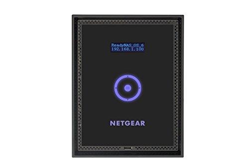 NETGEAR ReadyNAS 316 6ベイネットワークストレージ(ディスクレス) RAID0/1/5/6/10 1000BASE-T×2 インテルAtomデュアルコアCPU 2.1GHz 2GBメモリ 工具不要 RN31600-100AJS
