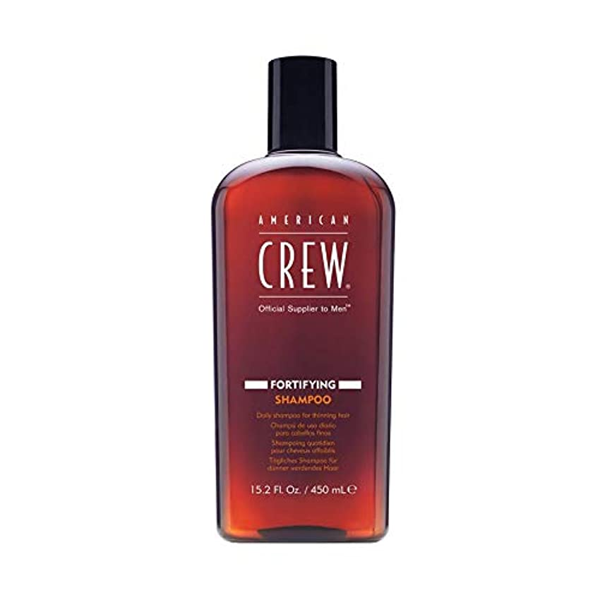 校長ビヨン矩形アメリカンクルー Men Fortifying Shampoo (Daily Shampoo For Thinning Hair) 450ml/15.2oz並行輸入品