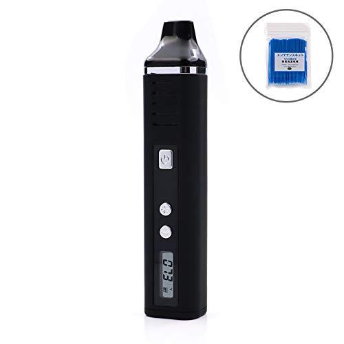 加熱式電子タバコ ヴェポライザー Hugo Vapor Pathfinder V2 Kit USB充電式 初心者キット 2200mAh 清潔用綿棒付き (ブラック)