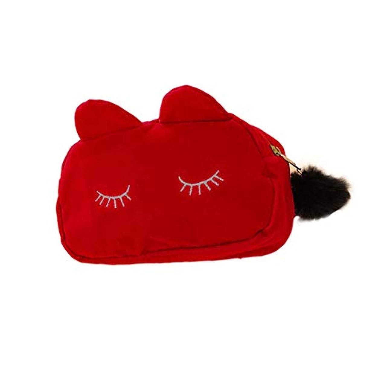 反論者王女ライター猫耳 化粧 コスメ ポーチ 小物入れ ペンケース かわいい 猫 ねこ にゃんこ メイクポーチ レディース