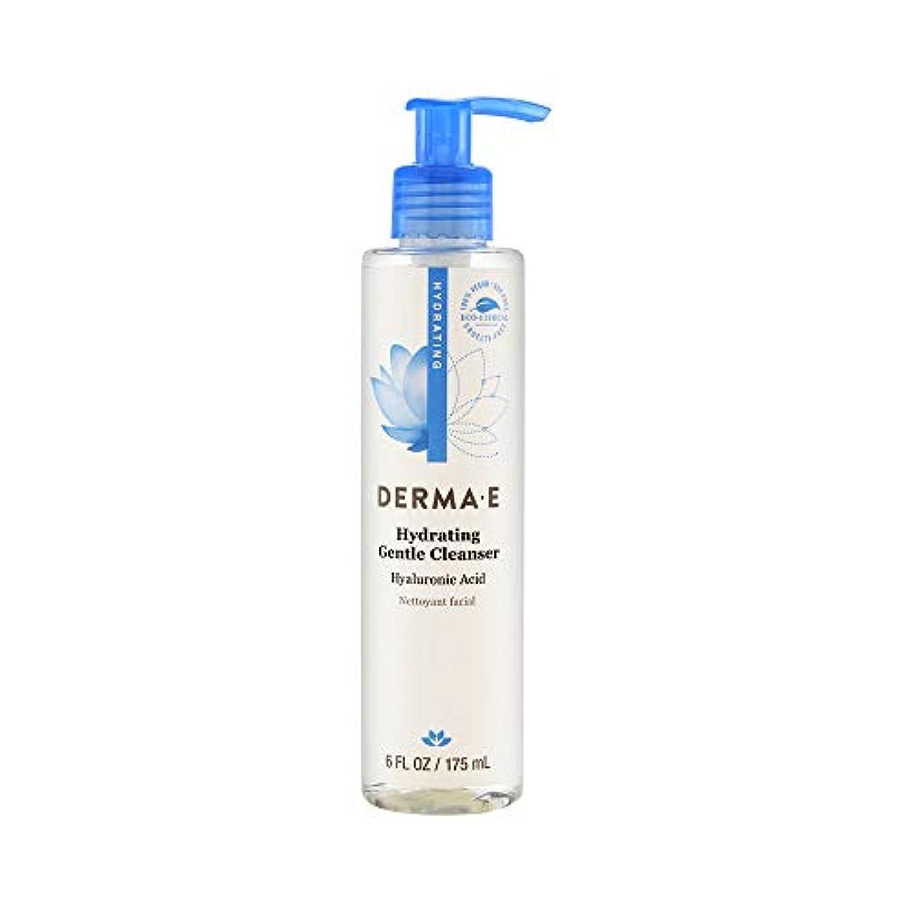 中毒偽善飼い慣らすDerma E Hydrating Cleanser 175ml/6oz並行輸入品