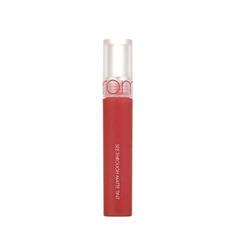 甘やかす仮装ペルメルローム?アンドシースルーマットティント6カラー韓国コスメ、Rom&nd See-Through Matte Tint 6 Colors Korean Cosmetics [並行輸入品] (#06. burn wrap)
