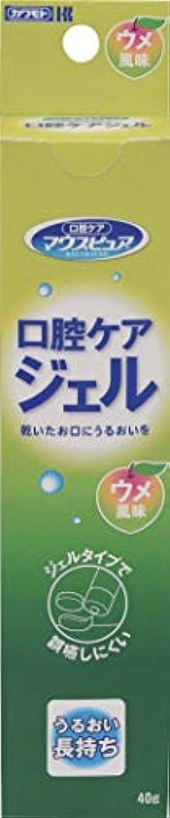 侮辱パドルそして川本産業 マウスピュア 口腔ケアジェル ウメ風味 40g入