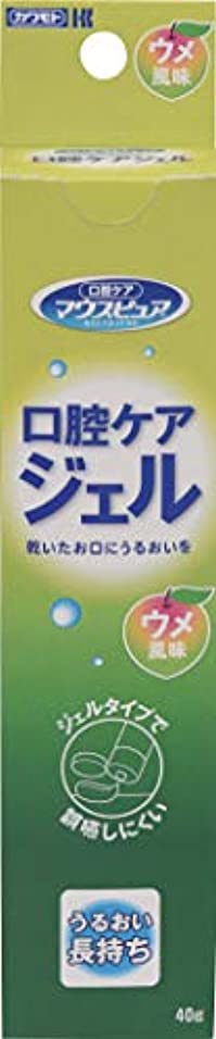カンガルー秀でる入力川本産業 マウスピュア 口腔ケアジェル ウメ風味 40g入