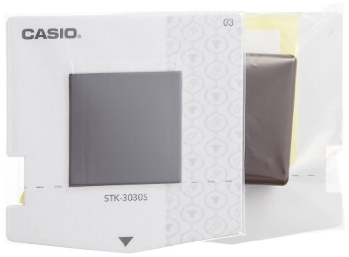 カシオ計算機 ラベルライター スタンプメーカー ポムリエ スタンプキット交換用×2 30×30mm STH-3030