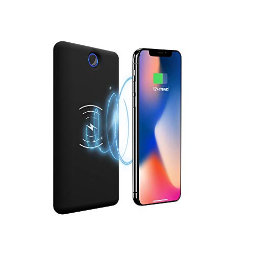 d30bd4a2ea Anmiyo モバイルバッテリー 大容量 20000mAh ワイヤレス充電器 Qi Xperia Galaxy iphone 【PSE認証