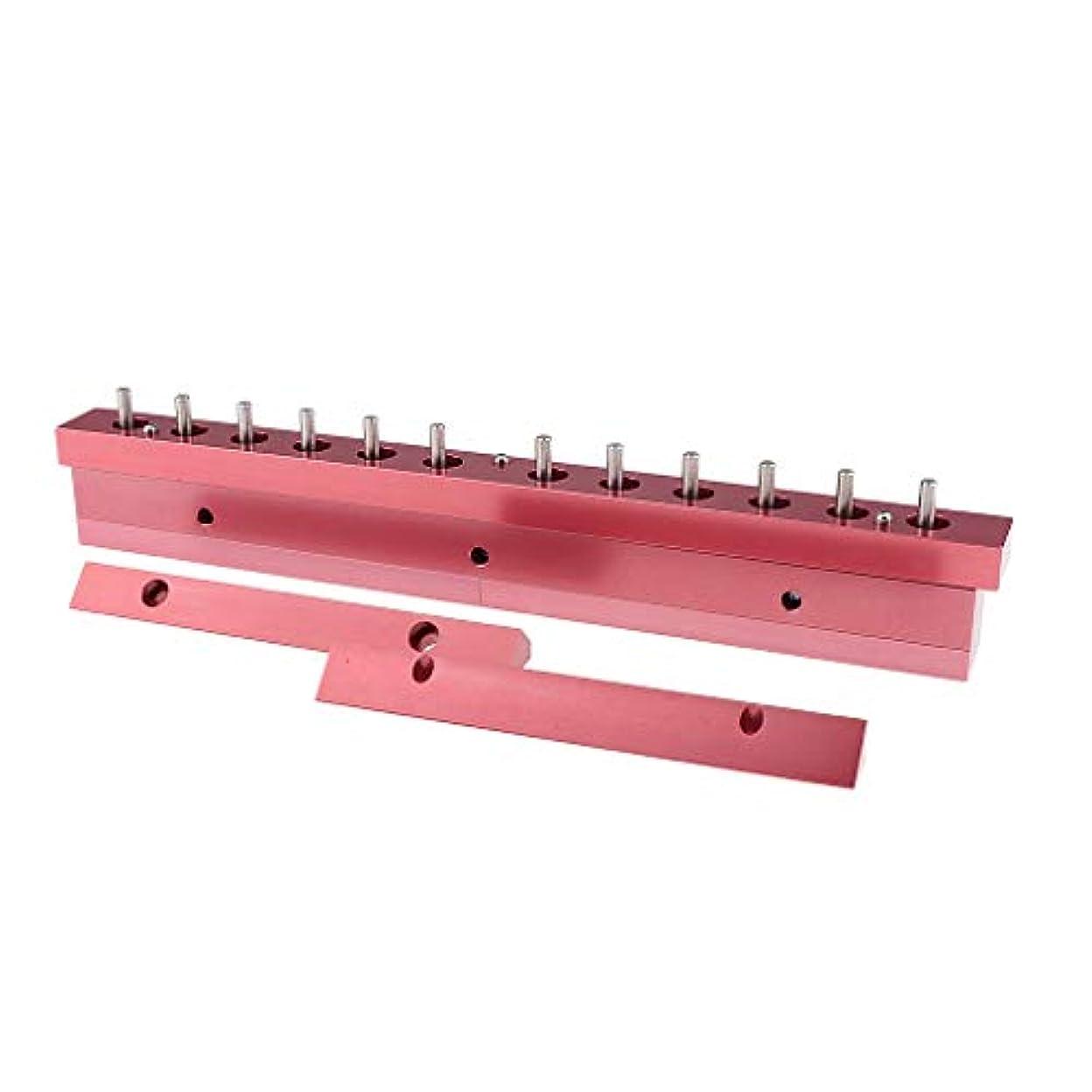 神秘よろしく取り付けF Fityle 12.1mm口紅型 リップスティック 12穴充填工具 2タイプ選べ - 3way