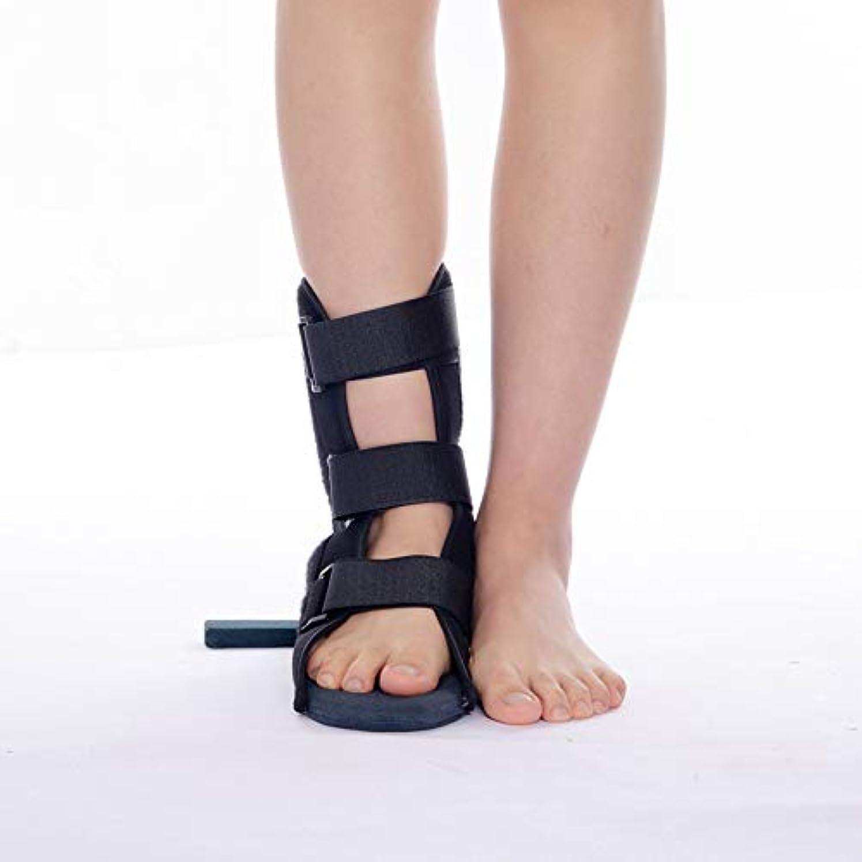 ブレースリビジョン月曜フットドロップサポートシューズ、正しい足外反、痛みと回復の捻rain足首装具、脳卒中リハビリテーション装具,L
