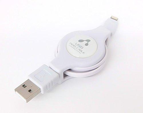 エアージェイ MFI認証 USBライトニングケーブル巻取りタ...