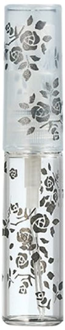 める十代の若者たちベール50122 【ヤマダアトマイザー】 グラスアトマイザー プラスチックポンプ 柄 バラ ブラック