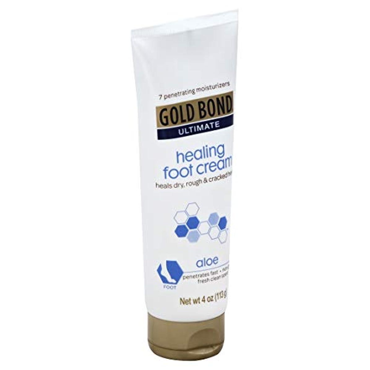 聖職者豊かな貸し手Gold Bond Healing Foot Therapy Cream 120 ml (並行輸入品)