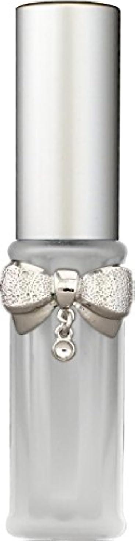 マイクロプロセッサイル触手22202 グラスアトマイザーリボンダイヤシルバー