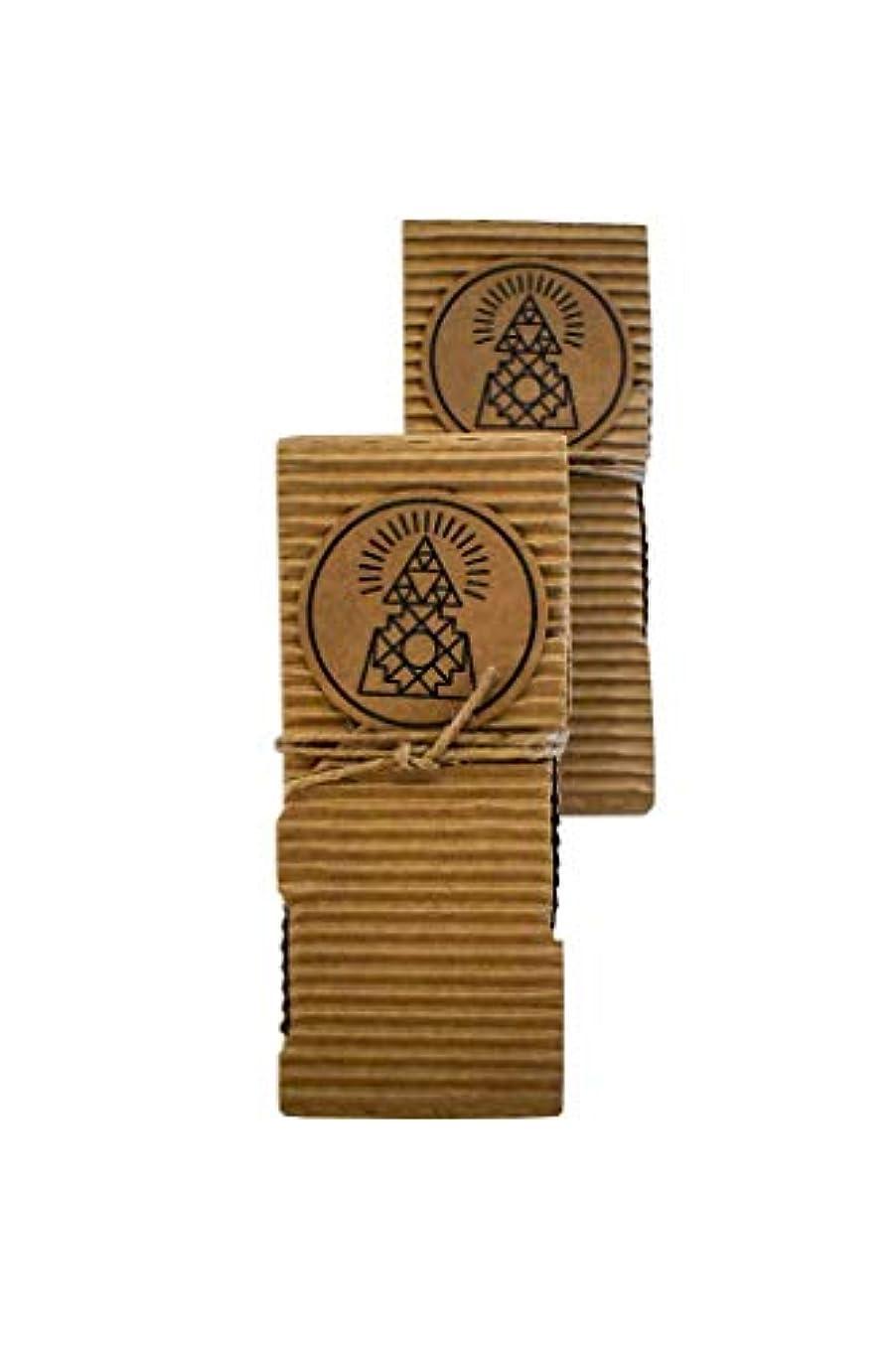 一次半球きれいにArtisanal Breu樹脂 – Palo SantoブレンドIncense Sticks