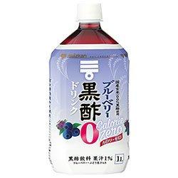 ミツカン ブルーベリー黒酢 カロリーゼロ 1Lペットボトル×6本入×(2ケース)