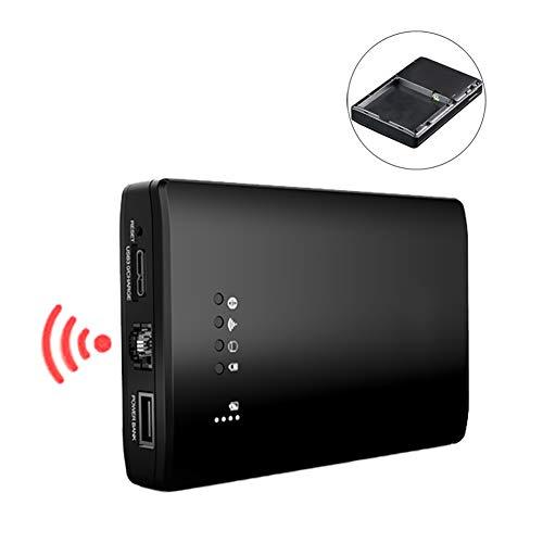 3イン1 外付けハードディスクボックス USB3.0 データトランスミッション WiFiトランスミッション ルーター モバイル電源 NAS 機能 マルチシステム iOS/Android/Windowsなどに対応